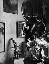 Arnold Newman (1918- 2006) - Max Ernst, NYC, 1942