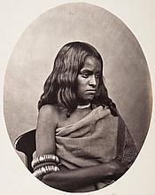 Albert Thomas Watson Penn (1849-1924) - Toda Woman, Nilgiri Hills, ca.1865