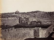 James Robertson (1813-1888) - Mount of Olives, South of Haram Area from the South West, 1857