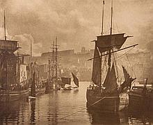 Frank Meadow Sutcliffe (1853-1941) - Dock End, Whitby, 1880