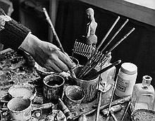 André Kertész (1894-1985) - Jean Lurçat, August 22nd, 1927