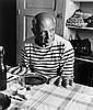 Robert Doisneau (1912-1994) - Les Pains de Picasso, 1952