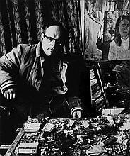 Ida Kar (1908-1974) - John Bratby, 1959; W H Auden, ca.1960