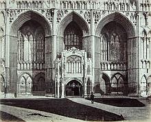 Roger Fenton (1819-1869) - Peterborough Cathedral, ca.1857