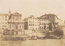 Giacomo Caneva (1813 - 1865) - Porto di Ripetta, Rome, ca.1850