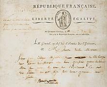 Letter signed