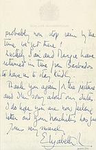 Autograph Letter to