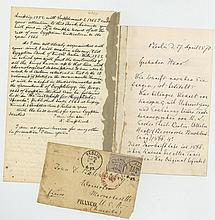 Autograph Letter signed to anthropologist John D. Baldwin, 4pp