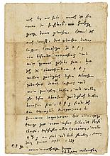 Autograph Letter signed to Philip, Landgrave of Hesse, 3pp