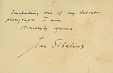Autograph Letter signed to Helen Mobert, New York, 1½pp