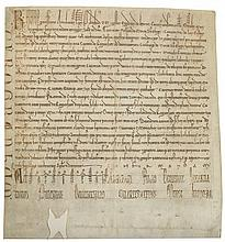 Deed by Raoul de Neuville, bishop of Arras