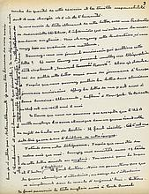 Long Autograph Letter signed to Monsieur Cousins of New York, 3pp