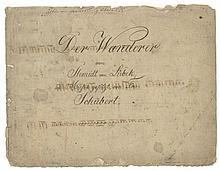 Der Wanderer von Shmidt von Lübeck, title on upper cover