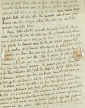 Autograph Letter to his lawyer and business agent Gaspard Gaufridy, 3pp