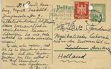 Autograph Postcard signed