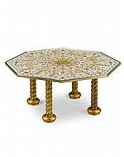 An Octagonal Low Table