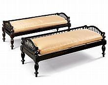 A Pair of Anglo Indian Day Beds