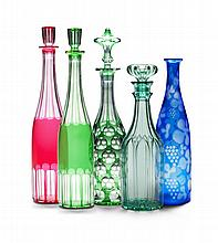 A Group of Serving Bottles