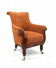 A William IV Library Chair