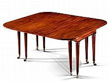 A Regency Mahogany Extending Dining Table