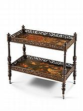 A Late 19th Century Two-Tier Etagere