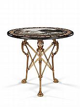 An Early 19th Century Scagliola Table