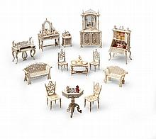 A Suite of Doll's House Furniture