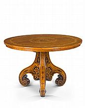 A Victorian Marquetry Centre Table