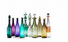 A Group of Glass Bottles
