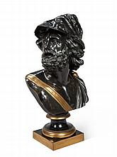 A Bronze Bust of Ajax After The Antique