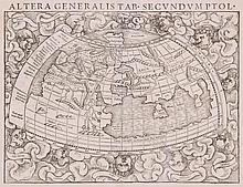 Munster (Sebastian) - Altera Generalis Tab. Secundum Ptol.,