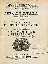Bernoulli (Jakob) - Ars Conjectandi, Opus Posthumum.