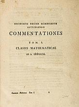 Gauss (Carl Friedrich) - [A collection of twelve mathematical papers],