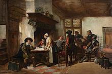 Herman Frederik Carel ten Kate (1822-1891) - At the Inn