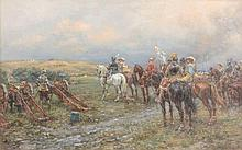 Ernest Crofts (1847-1911) - Prince Rupert at Marston Moor