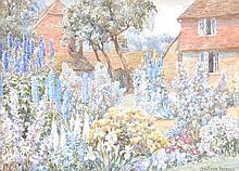 Beatrice Parsons (1870–1955) - A Surrey farm garden