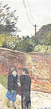 Carel Weight (1908-1997) - The Conversation