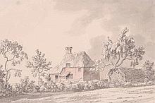 Joseph Farington (1747-1821) - Thatched cottage