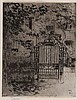 Theodore Casimir Roussel (1847-1926) - The Gate, Chelsea, Theodore Roussel, £200