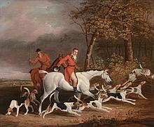 James Barenger (1780-1831) - Lord Derby's Foxhounds