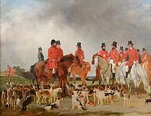 Brian Edward Duppa (1804-1866) - Tichlen Hounds