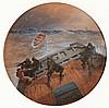 Elmer Keene (fl.1880-1890) - Stormy Sea, Elmer Keene, Click for value