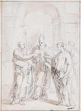 Follower of Ventura Salimbeni (1568-1613) - The Marriage of the Virgin