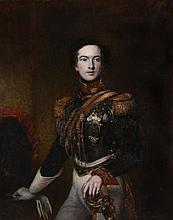 English School (19th Century) - Portrait of Sir Thomas Bradford