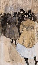 Louis Auguste Mathieu Legrand (1863-1951) - Le Quadrille
