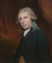 Circle of Joshua Reynolds (1723-1792) - Portrait of Richard Brinsley Sheridan (1751-1816)