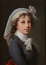 Attributed to Elisabeth Louise Vigée Le Brun Self-Portrait, half-length