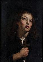 Alexander Hohenlohe Burr (1837-1899) - Faith