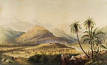 Anglo-Indian School (19th Century) - Rural Indian landscape