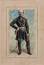 James Jacques Joseph Tissot (1836-1902) - Portrait of General Trochu,